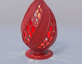 Easter egg 3D print model printing