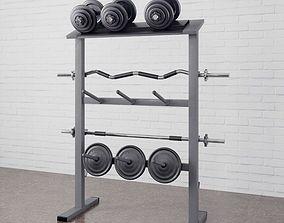 3D model Gym equipment 18 am169
