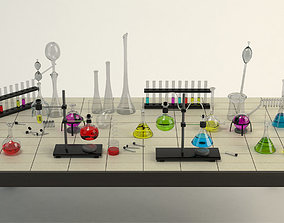 Equipment Chemistry Laboratory 3D model