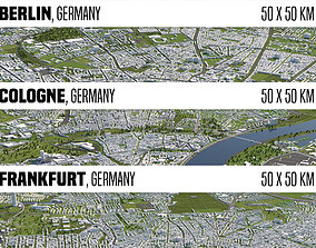 Germany 3 Cities 3D