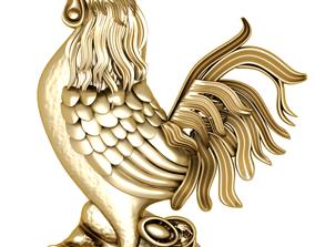 chicken pendant 3D great