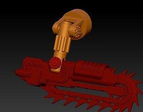 3D printable model THE CRIMSON CHAINSAW Weapon set 4 1