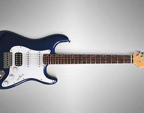 Electric Guitar Ashtone 3D model
