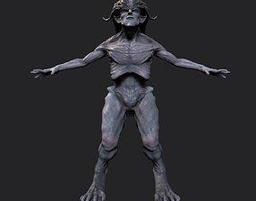 3D asset Demon Humanoid