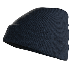 Beanie Hat 3D asset VR / AR ready