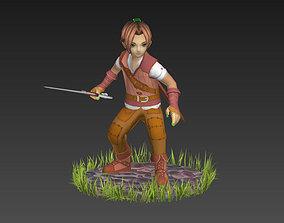 Fantasy Boy 3D model