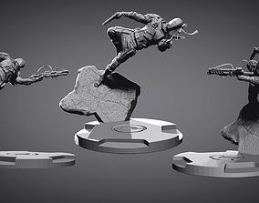 3D print model DEATH STROKE