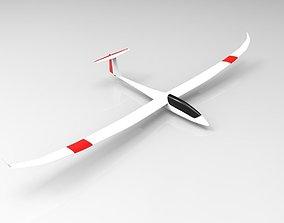 3D Glider Airplane