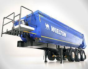 Semi-trailer truck Wielton NW 3 A 24HP 3D model