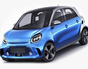 standard Smart EQ Forfour 2020 3D