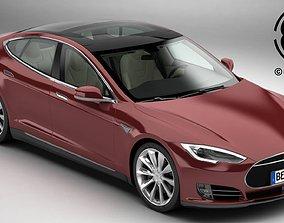 3D Tesla Model S 2015