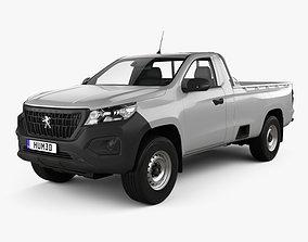 Peugeot Landtrek Single Cab Work horse 2020 3D model