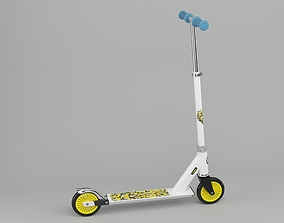Childrens scooter 3D