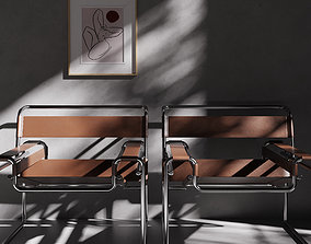 3D Wassily chair by Marcel Breuer