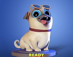 3D print model Play dog zbrush