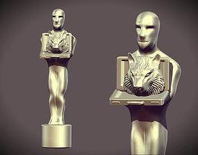 3D printable model Dicaprio s Figurine Award