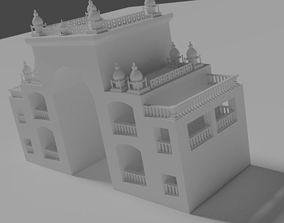 3D model Islamic Entrance Structure