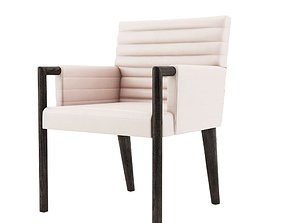3D Gosha Quilted Arm Chair - Bright Chair