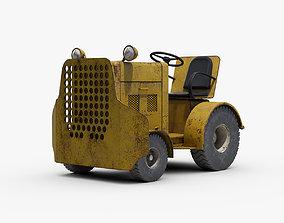 Clarktor Tug Tractor 3D