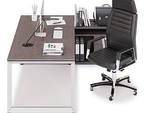 3D Office workspace LAS 5TH ELEMENT v20