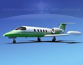 3D Gates Bombardier Learjet 35 V04