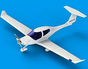 Diamond DA-40 da40 3D model