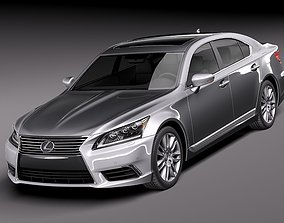 3D Lexus LS 460 2013