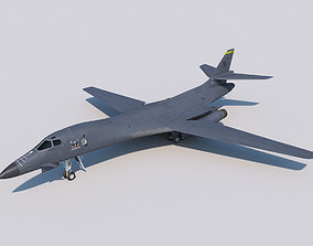 Strategic Bomber Rockwell B-1B Lancer 3D