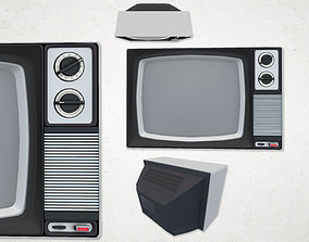 old 3D asset VR / AR ready Television