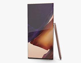 3D model Samsung Galaxy Note20 Ultra Mystic Bronze