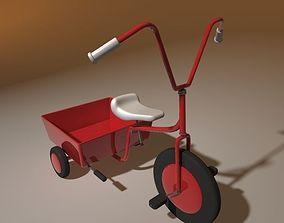 3D model toy 3 wheeler bike child