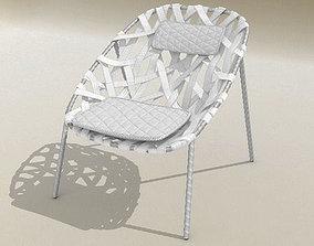 3D model Coracle Lounge Chair De la Espada