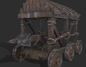 War Mechanism Battering Ram 3D model PBR