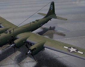 Boeing B-29 Superfortress 3D model b-29