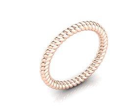 HELIX RING gem 3D print model