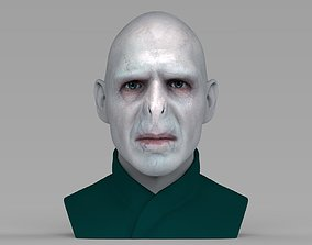 Lord Voldemort bust ready for full color 3D printing