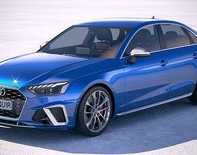 Audi S4 Sedan 2020 3D model