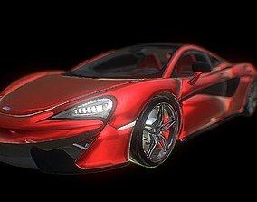 3D asset McLaren P 1 Mesh
