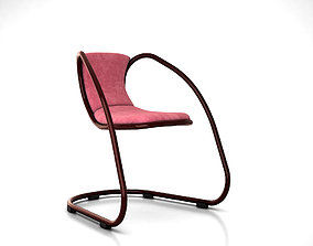 Cantilever chair by Luxy Timeless 3D model