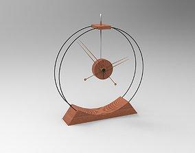 3D asset Aire Table Clock