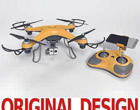 Gneneric Quadcopter Drone V2 3D asset