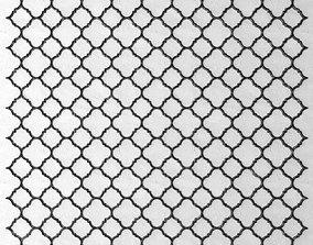 Panel lattice grille 3D 54
