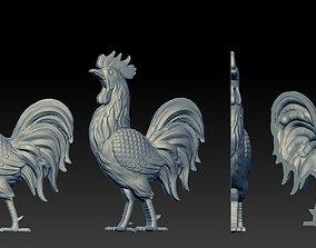 Rooster reliefs 3D Print model
