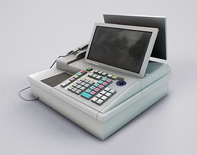 Japanese Cash Register 3D model