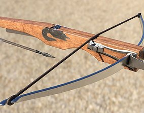 3D asset Crossbow Animated