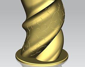 A vase for pens 3D printable model