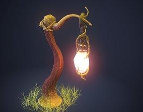 3D asset game-ready Stylized Lantern
