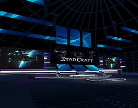 Game Tournament Stage 3D model