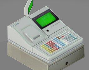 Cash Register 3D electronics
