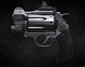 3D asset RCX-84 Break open Revolver